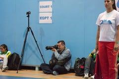 Photoreporter royalty free stock photography