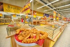 Photos à l'ouverture officielle d'Auchan d'hypermarché Photographie stock libre de droits