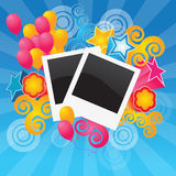 Photos. Illustration of nice and colorful background Royalty Free Stock Image