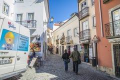 Photos around the Lisbon city Royalty Free Stock Photos