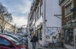 Photos around the Lisbon city Stock Photos