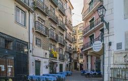 Photos around the Lisbon city Stock Photo
