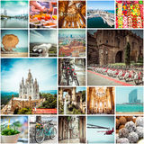Photos from Barcelona Royalty Free Stock Photography
