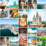 Photos from Barcelona Royalty Free Stock Images