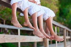 Photos of bare feet, Royalty Free Stock Photography