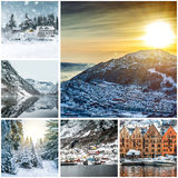 Photos from Bergen Royalty Free Stock Photo