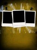 Photos blanc sur le mur en béton Image stock