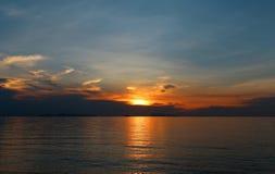 Photos bright sunset Stock Photo