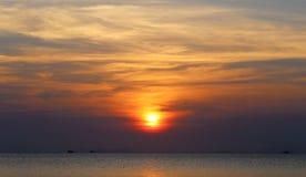 Photos bright sunset Royalty Free Stock Image