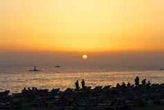 Photos bright sunset Royalty Free Stock Photo