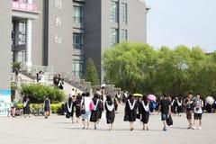 Photos d'obtention du diplôme Image libre de droits