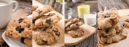 Photos de collage des biscuits photos libres de droits