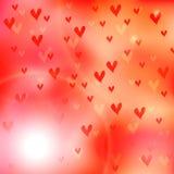 Photos de fond de jour de valentines Image stock