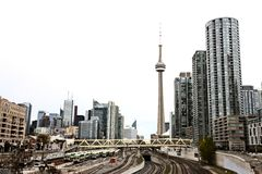 Photos de jour de Toronto Ontario Photos stock