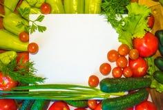 Photos de nourriture de divers légumes, avec un fond blanc Nourriture images stock