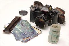 Photos de rotation dans l'argent Photo libre de droits