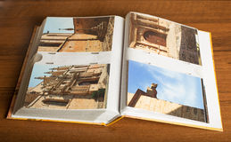 4 photos de ville de Montblanc, Catalogne, Espagne Photographie stock