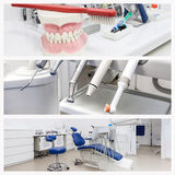 Photos of a dentists office Stock Photo