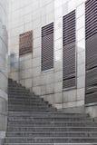 Photos des étapes menant au transfert, le haut escalier photos stock