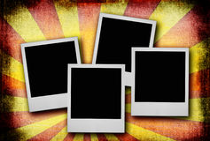 Photos on dirty background Royalty Free Stock Photo