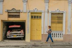 Photos du Cuba - le Santiago de Cuba Images stock