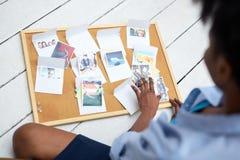 Photos in envelopes Royalty Free Stock Photos