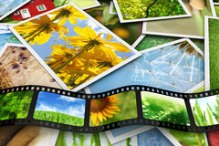 Photos and film Stock Photo