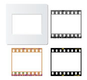Photos film frames Stock Photography