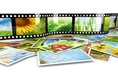 Photos and film Royalty Free Stock Image