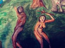 Photos fraîches aléatoires d'art psychadellic trippy de croquis d'illustration de dessin Photographie stock