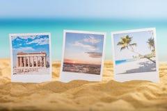 Photos Of Holidays On Beach. Close-up Of A Photos Of Holidays On Sandy Beach Stock Image
