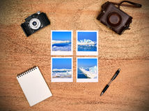 Photos with ice and icebergs Stock Photos