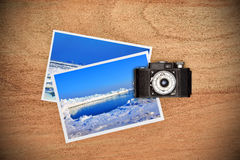 Photos with ice and icebergs Royalty Free Stock Photo
