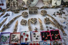 The jewelry festival ath yenni Royalty Free Stock Image