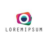 Photos Logo Design Stock Photo