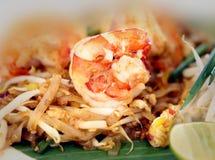 Photos macro Thai noodle Royalty Free Stock Photography