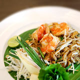 Photos macro Thai noodle Stock Photography