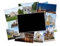 Photos of Moscow and St. Petersburg Royalty Free Stock Image