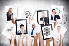 Photos Of Multi-Ethnical Business People Stock Photo