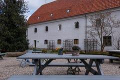 Simrishamn tour of the old town Royalty Free Stock Image