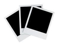 Photos polaroïd Image stock