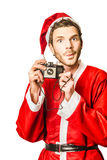 Photos with santa Stock Images