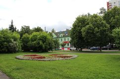 Square in the street Dmitry Ulyanov. Stock Photography
