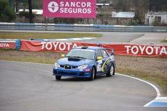 Car motosport photos. This photos show cars racing on a local street racing circuit royalty free stock photo
