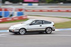 Car motosport photos. This photos show cars racing on a local street racing circuit stock image