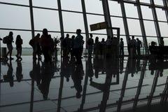 The photos silhouette passengers travelers Stock Photos