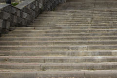 Photos stone stairs. Stairs up. Royalty Free Stock Photos