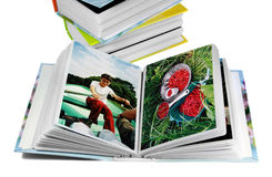 photos after summer vacations Stock Images