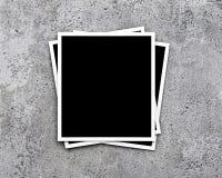 Photos sur le fond concret Image stock