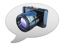 Photos symbol icon Stock Photo